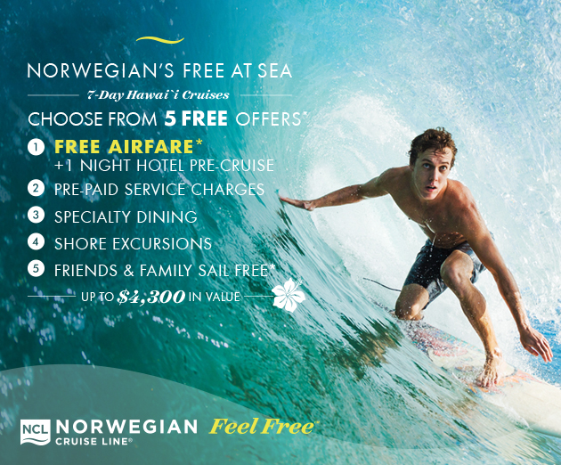 NOW CHOOSE FROM 5 FREE OFFERS